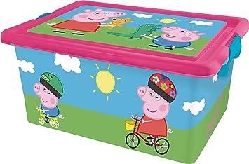 13 Tapa Peppa 04415 Litros Contenedor CierresCaja Pig Con Organizadorastor Y MSzVLqUGp