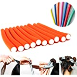 AY Hair Foam Rollers Soft Twist Curler Rods For Your Hair - 10 Pieces