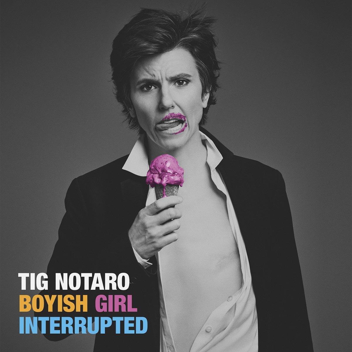 CD : Tig Notaro - Boyish Girl Interrupted (CD)
