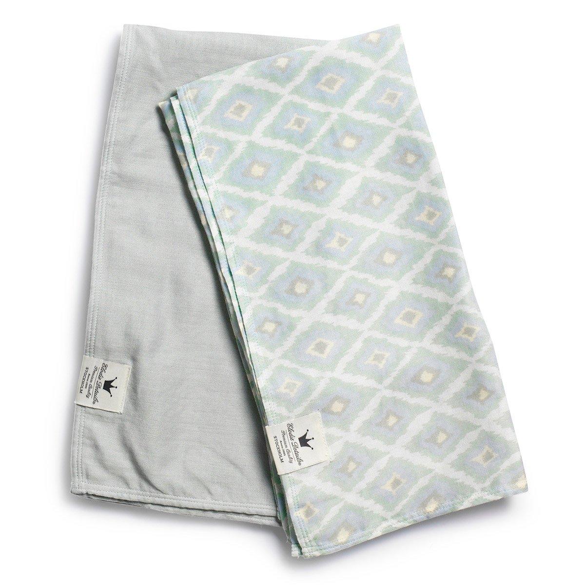 Elodie Details 7350041673132 Bambus-Musselin-Decke, Colours of the Wind, grau MOLEO Sp.z o.o. ELODIEBLANKMUSCOLOURWIND
