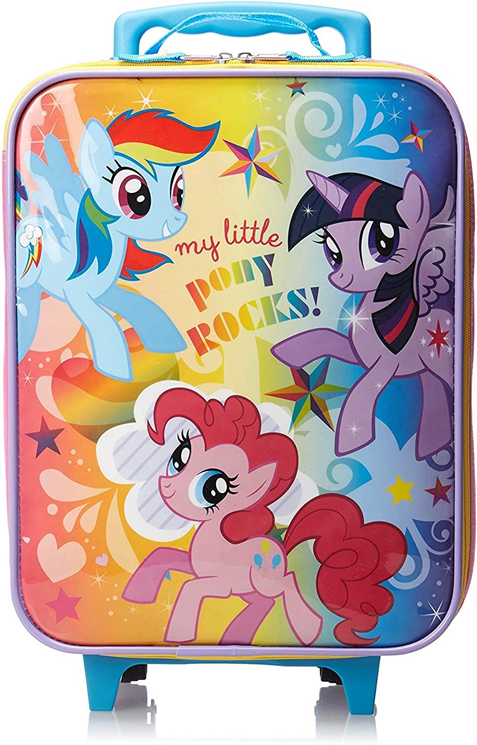 My Little Pony Luggage Carry On with Bonus Toddler Backpack