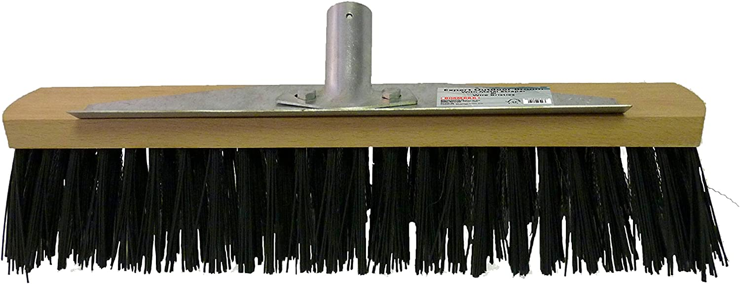Bosmere PRODUCTS M457 Expert Outdoor Broom Head and Handle Multi-Colour