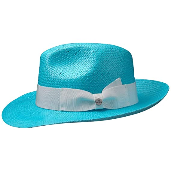 Lierys Colour Straw Bogart Hat Men´s Summer  Amazon.co.uk  Clothing bf0cc4cc75c3