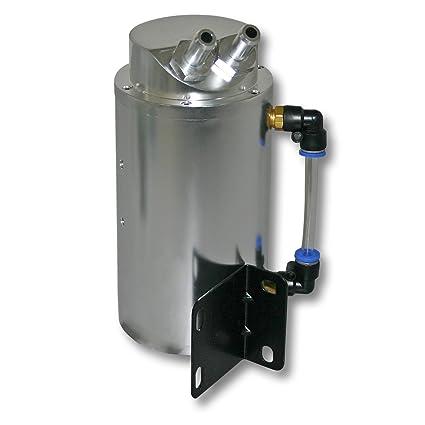 Recuperador de aceite universal de aluminio para coche AUTOM/ÓVIL