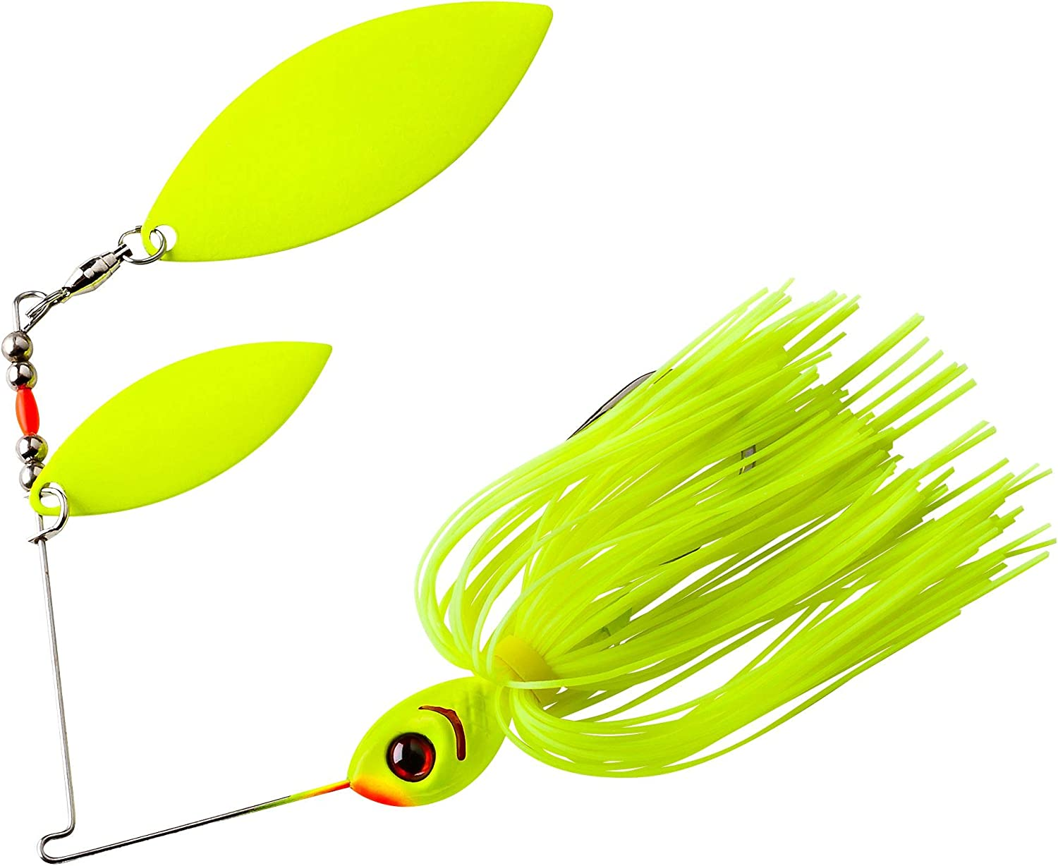Booyah Double Willow Glow Blade Spinnerbaits Choice of Sizes and Colors