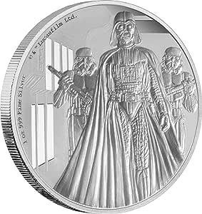 Power Coin Darth Vader Star Wars A New Hope 1 oz Plata