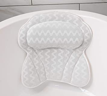 Bathtub Spa Bath Pillow Cushion by IdleHippo