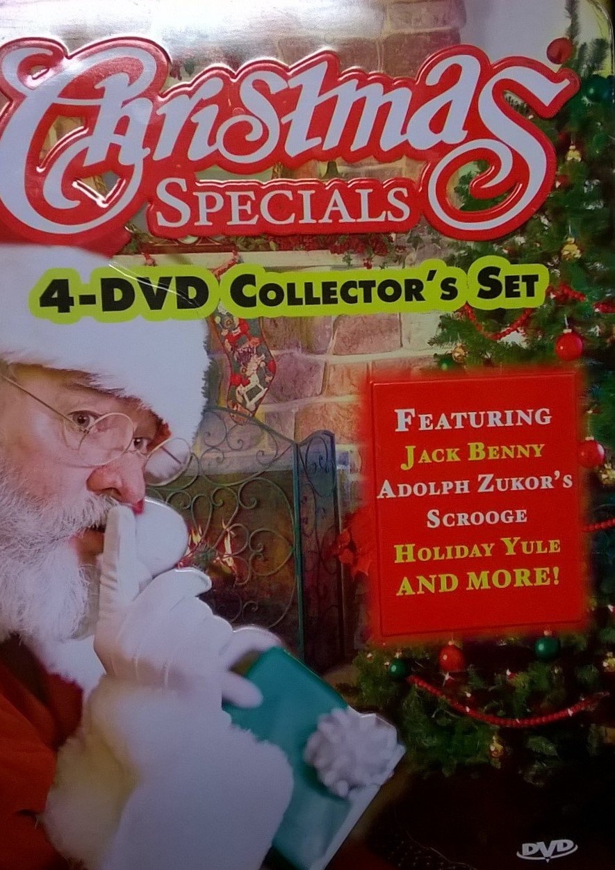 Christmas Specials - 4 DVD Collector's Set in Tin Box