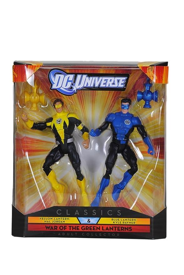 DC Universe Classics War of The Green Lanterns Yellow Lantern Hal Jordan DCUC