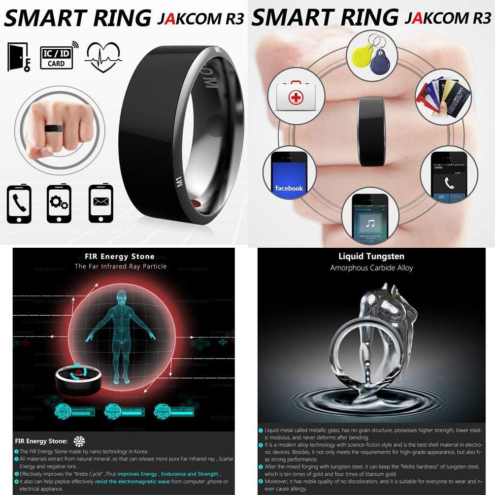 WYXR Lanello Intelligente R3 Indossa Una Nuova Tecnologia per telefoni Android e iOS Porta Intelligente NFC Smart Lock Anello Smart Wear Impermeabile Multifunzione,7yards