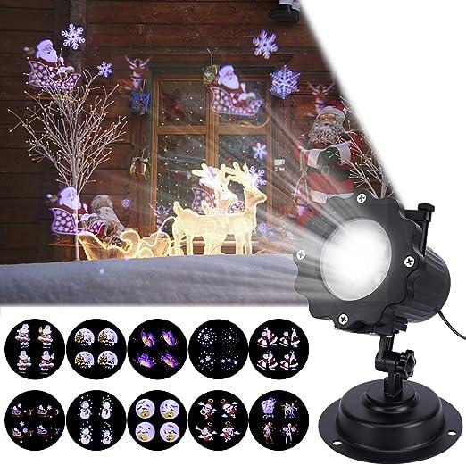 Lámpara de Proyección de Navidad, ALED LIGHT Luces del Proyector ...