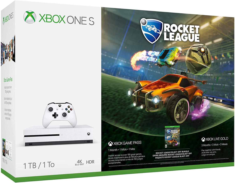 Microsoft Xbox One S 1 TB consola Rocket Liga Despegue ...