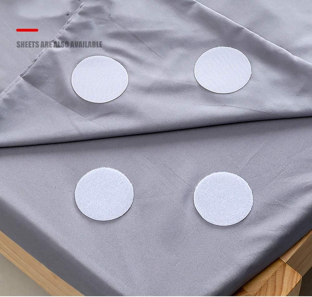 Tapis JUNSHUO 5 Pi/èces Bande Auto-Adh/ésif Blanc 6cm Porte,M/étaux ,Bande de Fixation en Tissu pour Carrelage en C/éramique