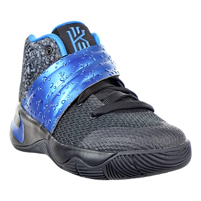 low priced 3021d f6b77 Amazon.com   Nike Kyrie 2 Little Kid s (PS) Shoes Black Blue 827280-005 (11  M US)   Basketball