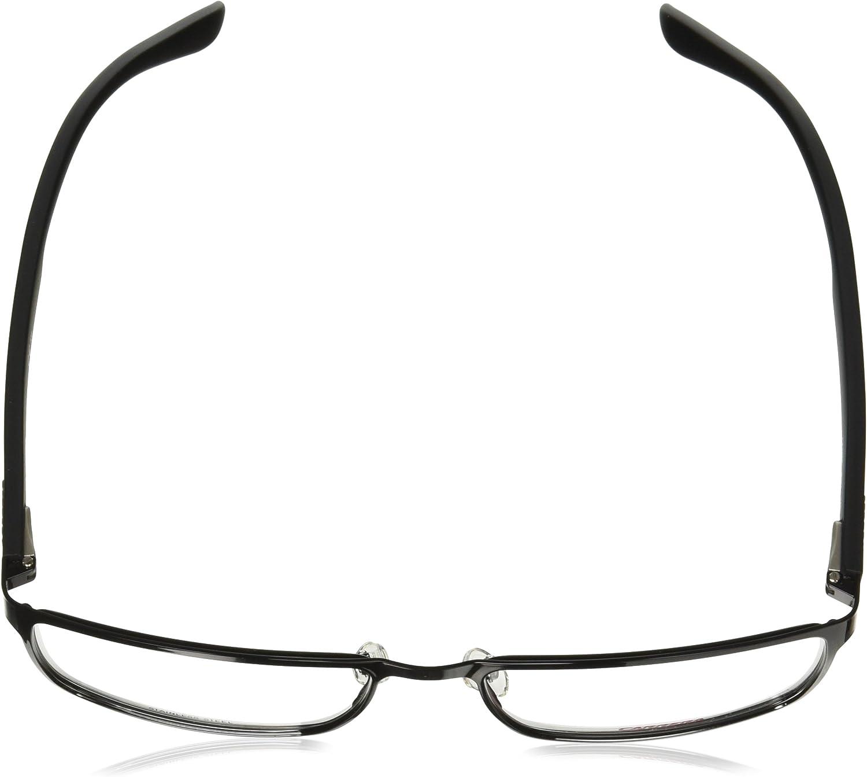 Carrera 6656 Eyeglass Frames CA6656-0POV-5818 Lens Diameter 58mm, Shiny Black Matte Black Frame
