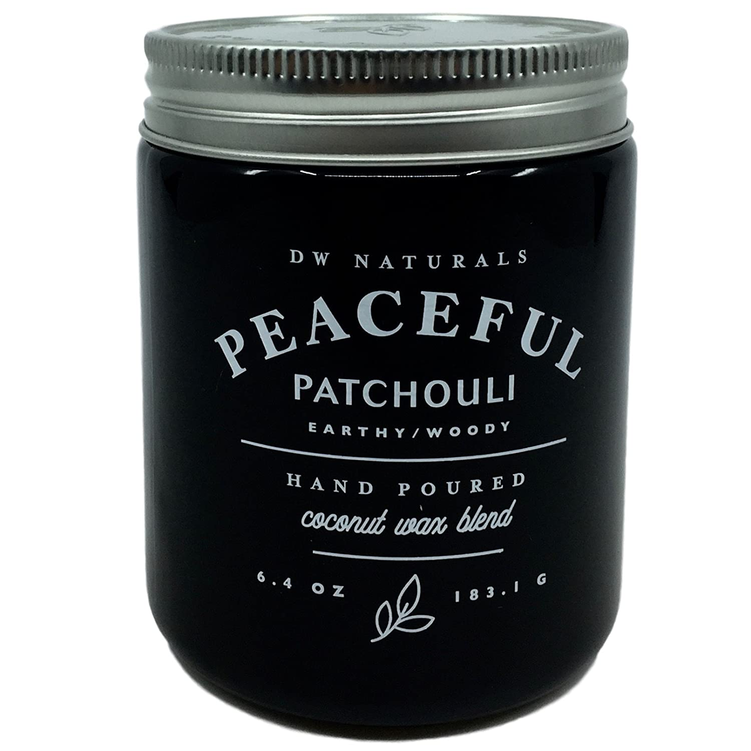 (訳ありセール 格安) DW Naturals Peaceful DW Patchouli Scented B078WN9DZ6 Candle Candle Coconutワックスブレンド B078WN9DZ6, 飛騨高山の甚五郎商店:2bb62dc7 --- egreensolutions.ca