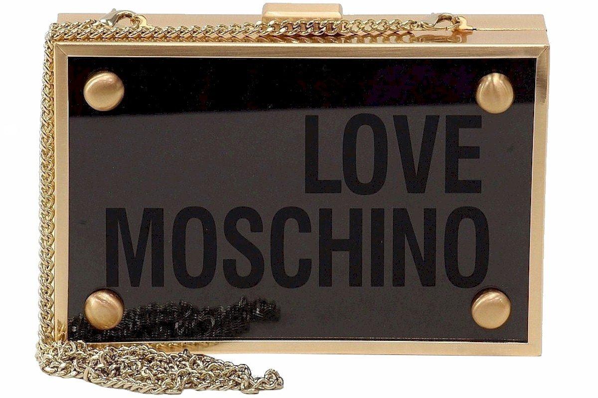LOVE Moschino Women's Box Clutch Black Clutch by Love Moschino (Image #2)