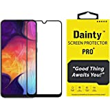 Dainty Full Glue Edge to Edge Tempered Glass Screen Guard Gorilla Protector for Samsung Galaxy M30s (Black) (Pack of 1)
