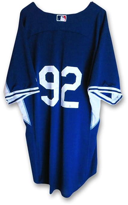 Tyler Ogle Team Issue Batting Practice Jersey #92 MLB Blank