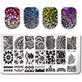 Born Pretty Nail Art Stamp Template Image Plate Various Arabesque Pattern BP-L008