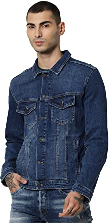 JACK /& JONES Jjialvin Jjjacket Sa 002 Noos Chaqueta Vaquera Blue Denim Blue Denim Azul XXL para Hombre