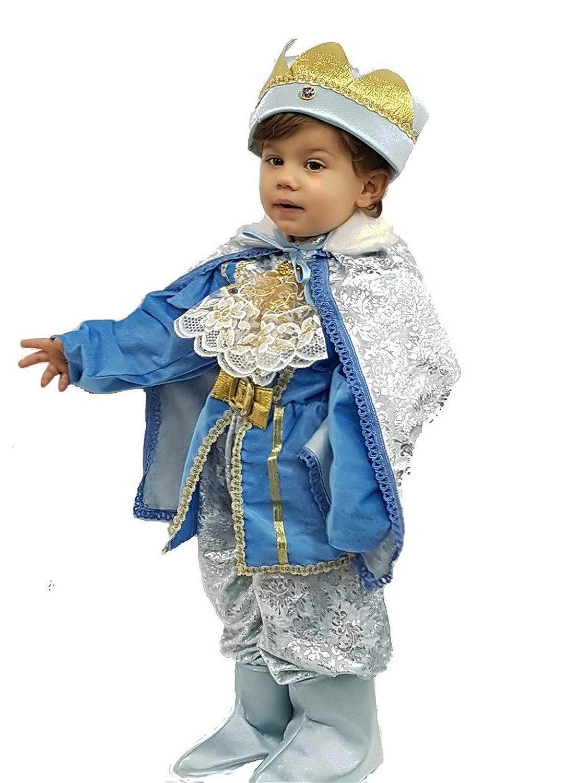 pequeños monelli Traje Príncipe Azul Niño Vestido Texto recién ...