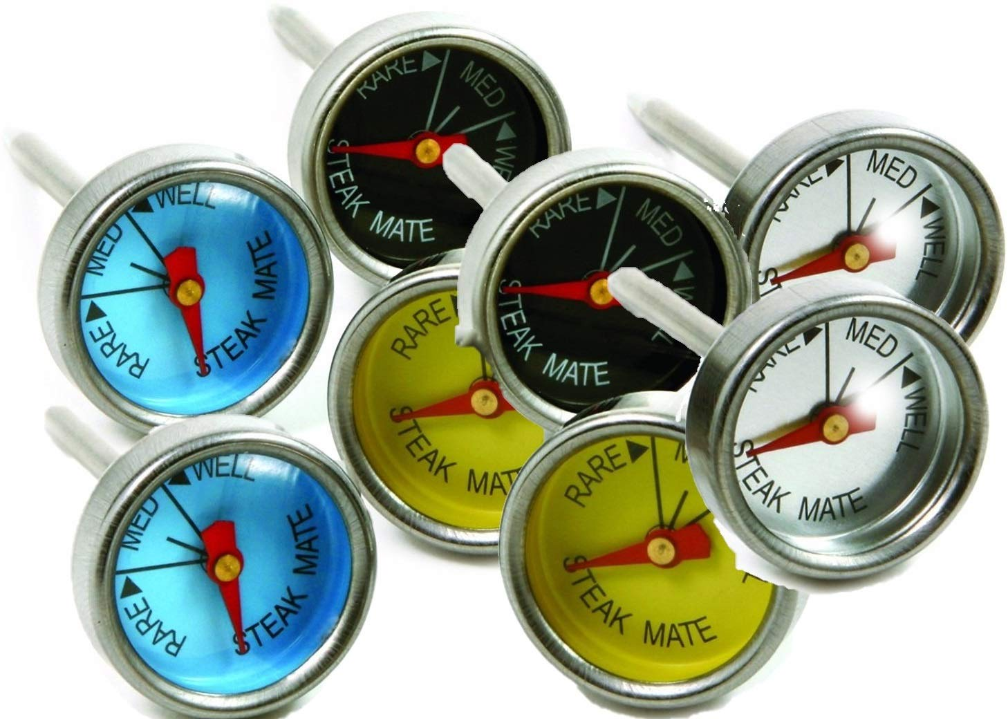 Norpro Mini Steak Thermometers Set of 8