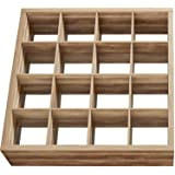 Better Homes and Gardens Versatile 16-Cube Organizer in Weathered (Bundle)