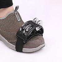 TREELF Foot Tambourine Percussion - Tambor de pie con campana de metal para cajón (negro)