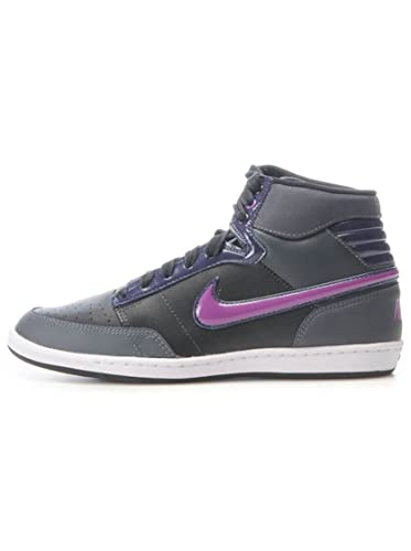 0f34bf36d8bc Nike Trainers Shoes Womens Double Team Lt Hi Black [8 Us]: Amazon.co ...