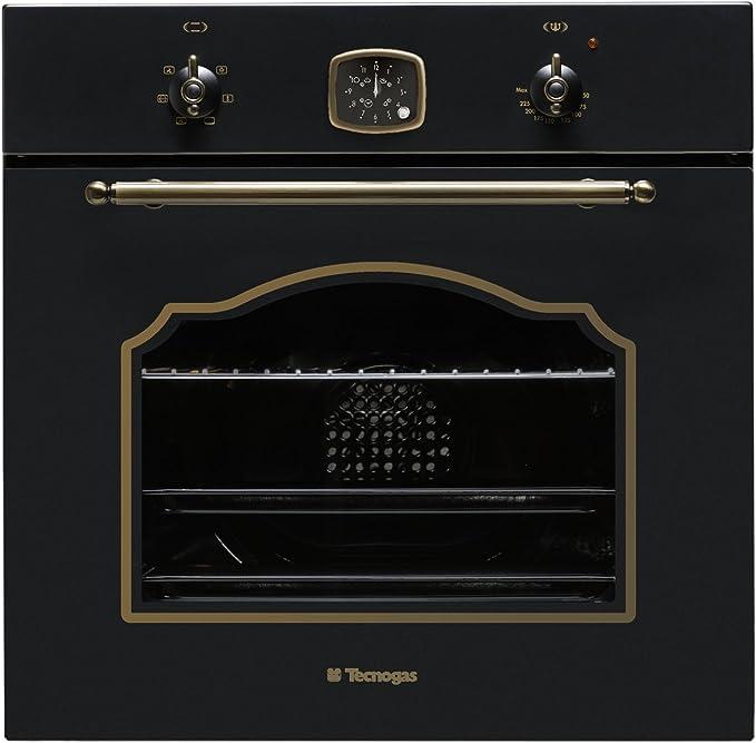 Tecnogas tradicional 60 cm integrado eléctrico horno (media ...