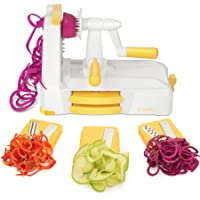 Zestkit Tri-Blade Spiralizer Vegetable Slicer