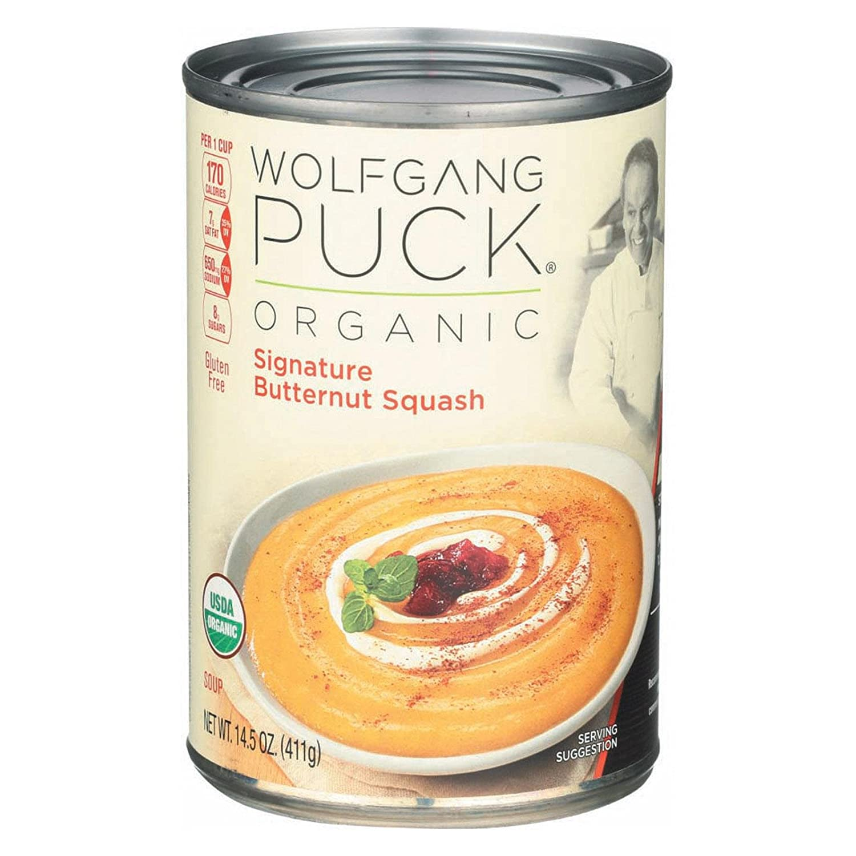 Wolfgang Puck Organic Creamy Butternut Squash Soup 14.5 oz. (Pack of 12)
