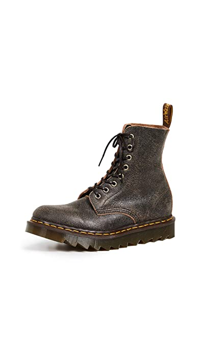 d97b40b58ed43c Dr. Martens 1460 Pascal Ripple Boots Brown  Amazon.co.uk  Shoes   Bags