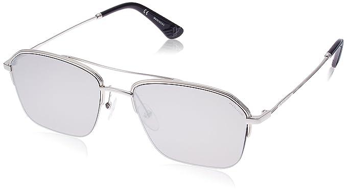 1e878f48fe Sunglasses Police HIGHWAY ZERO 1 SPL 361 589X Unisex Silver Square Silver  Mirrored