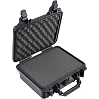 Pelican 1200 Case with Foam (Camera, Gun, Equipment, Multi-Purpose) - Black