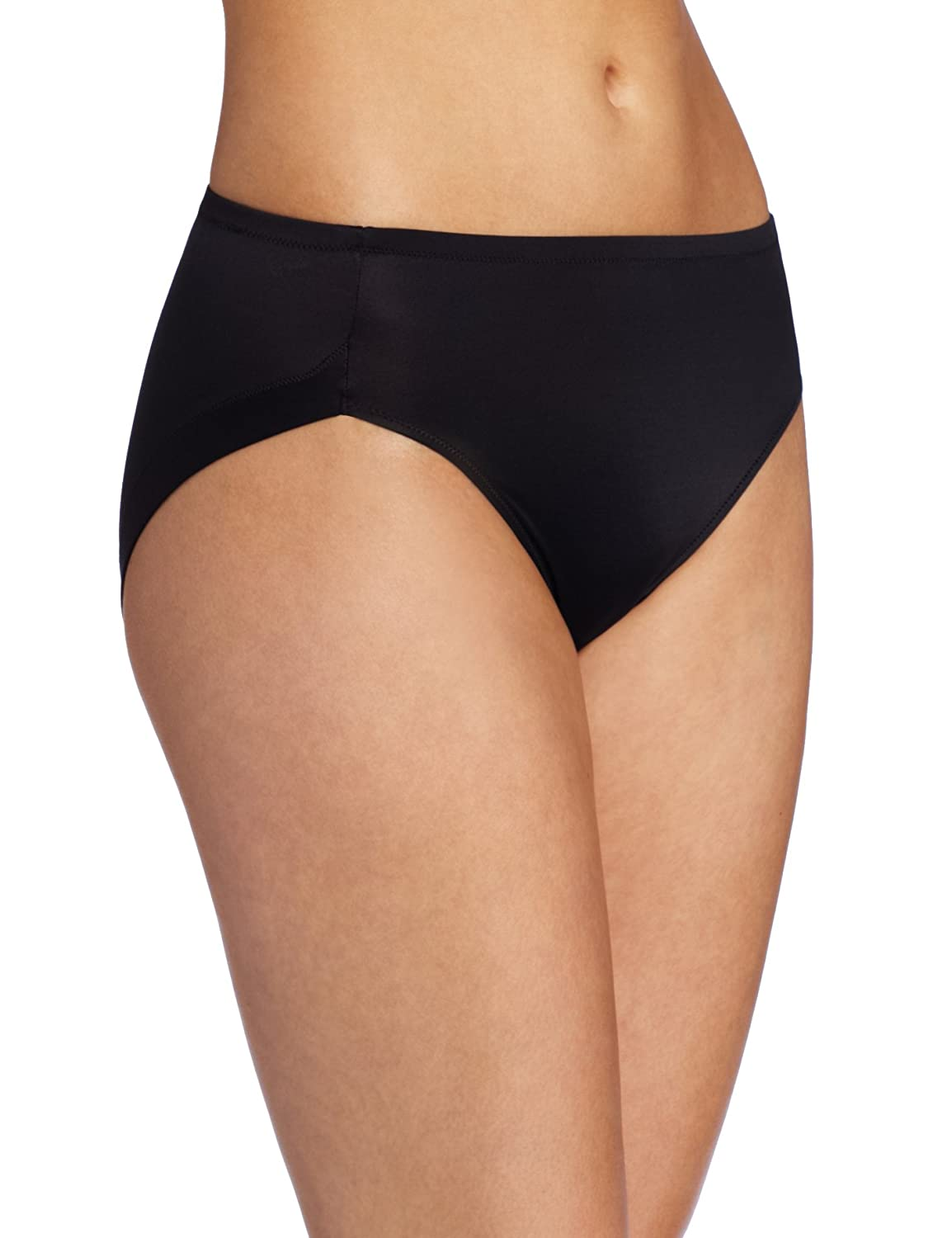 58a40fc65a3 Warners Women s No Wedgies No Worries Hi Cut Brief Panty  Amazon.ca   Clothing   Accessories