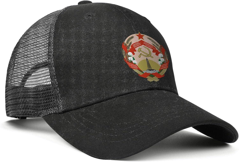 Azerbaijan Emblem Coat of Arms Women Men Mesh Fashion Baseball Cap Adjustable Snapback Sports Hat