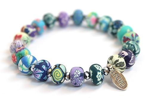 Fimo Perlen Armband Geschenk Für Sie Zum Geburtstag Valentinstag