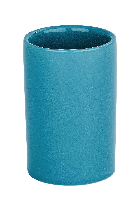 Petr/óleo Wenko Polaris Vaso para Cepillos de Dientes 7x7x11 cm Cer/ámica