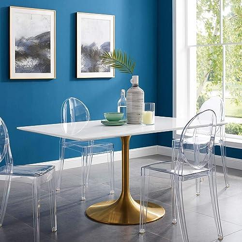 Modway Lippa 60″ Mid-Century Modern Dining Table