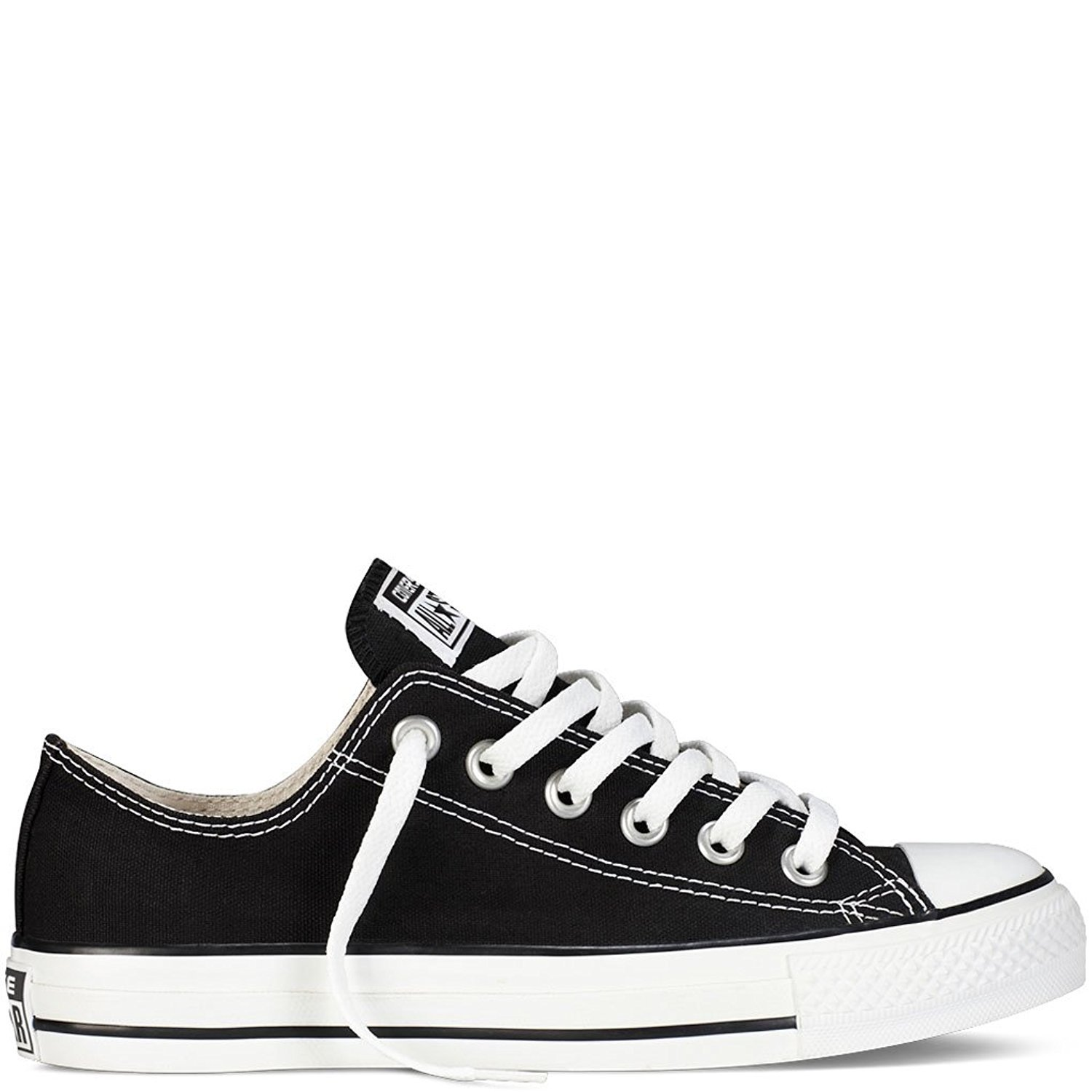 Converse Unisex Chuck Taylor All Star Ox Low Top Classic Black Sneakers - 11.5 D(M) US