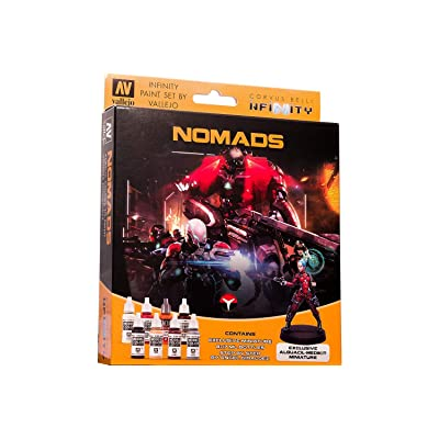 Model Color Set: Infinity Nomads Exclusive Miniature: Toys & Games