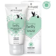 ATTITUDE Natural Cream for Tired Legs: EWG Verified, Hypoallergenic & Dermatologist Tested - Blooming belly (2.6 oz)