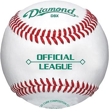 Diamond oficial Liga Duracover DBX pelotas de béisbol (12 Pack): Amazon.es: Deportes y aire libre