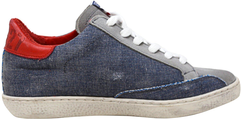 Freebird Women's 927 Fashion Sneaker, Denim Multi, 9 M US by Freebird (Image #3)