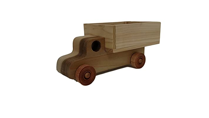 Quality Wooden Pickup Truck, 1 YEAR WARRANTY, in stock, will ship 1-2 days by USPS
