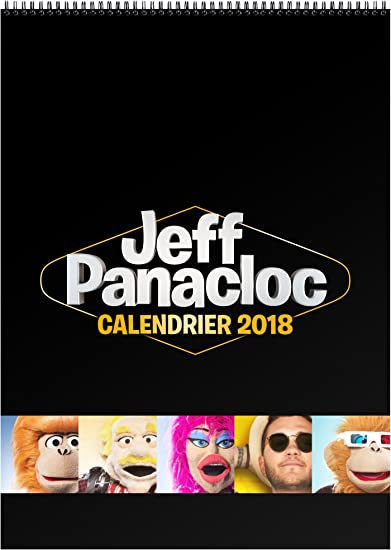 By Jeff Panacloc  Calendrier, F2027/18, Taille Unique: Amazon.fr