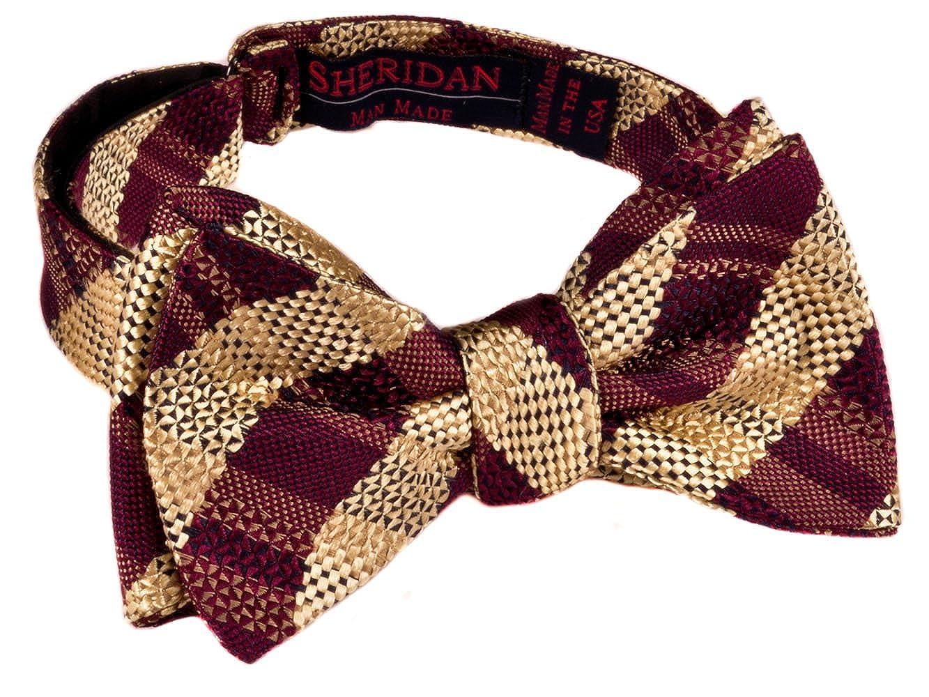 The DOME ZERO Bow-Tie Crimson and Gold