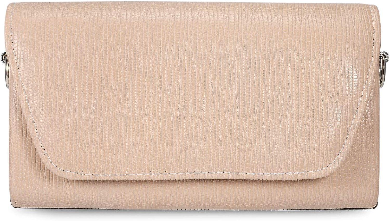 Tanpell PU Leather Women Evening Envelope Handbag Party Bridal Clutch Purse Shoulder Cross Body Bag for Wedding Party